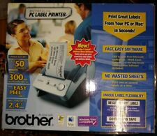 NEW Brother P-Touch QL-500 Thermal Transfer Printer - Monochrome - Label Print