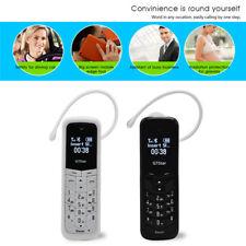 Black BM50 Mini Small Tiny GSM Mobile Phone Bluetooth Dialer Headset Cellphone#