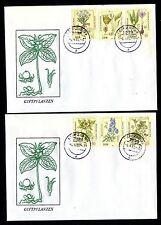 DDR 2691/6 FDC Giftpflanzen , Herbstzeitlose , Blauer Eisenhut , Sumpf-Porst