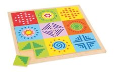 Legespiel Wer frisst was? Legepuzzle Goki 568-80 Holzspielzeug NEU Spielzeug