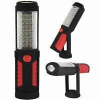 41 LED Ultra bright Magnetic Work Inspection COB Light Tent Lamp Torch Hang Hook