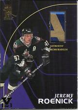 ITG Final Vault 1998-99 Be A Player All-Star Game Used Stick #S16 Jeremy Roenick