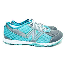 New Balance Minimus Youth Size 7 Girls Trail Running Shoes Teal Grey KT20TGG