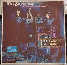 The Supremes Sing Rodgers & Hart - Tamla Motown LP mono