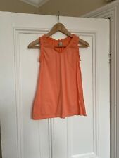 Girls Coral Peach Coloured Summer Top From Zara Age 11-12 Years