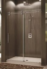 "Frameless Shower Virginia Sliding Shower system 56"" to 60"" x 76"""