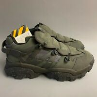 Caterpillar CAT Protector Grey Charcoal chunky shoes trainers blogger 90s y2k