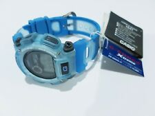Vintage G-Shock Extreme Watch DW-9000 Jelly Sky Blue Surfing Full Auto Light