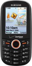 Samsung Intensity SCH U450 Red/Black Verizon Slide Qwerty Keypad Phone Must Read
