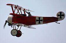 CAD  Bauplan Dreidecker Fokker DR 1  180cm Spannweite