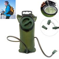 Hiking 2L Water Bladder Hydration Pack Reservoir Bag Sack Tank Backpack Luxury