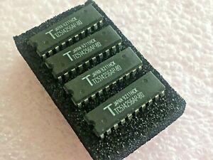 1 meg Dip 20 Memory  256 x 4 Toshiba TC514256AP-80 Fast Page Dynamic Ram 4pc