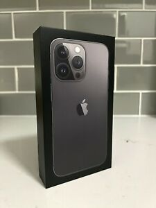 iPhone 13 Pro **BOX ONLY** (Graphite, 256GB) - New Apple Packaging
