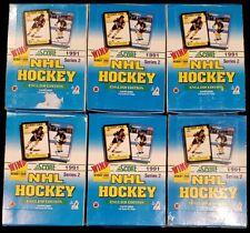 1991-92 Score Hockey Wax Boxes(8) Canadian--BOBBY ORR AUTO ???? & INSERTS