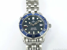 Omega SEAMASTER Blu 2561.80.00 Mid Taglia 36 mm-stile James Bond-Quarzo 300M
