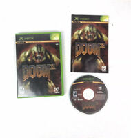 XBOX DOOM 3 Game Microsoft 2005 Tested And Complete Game