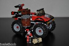 LEGO BATMAN HARLEY QUINN MINIFIGURE & HAMMER TRUCK ONLY FROM 7886 SET AS SHOWN