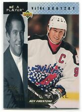 1994-95 Be A Player Up Close & Personal 1 Wayne Gretzky