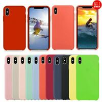 For iPhone XS Max XR 10R X 8Plus 7Plus 8 7 Case Silicone Shockproof Phone Cover