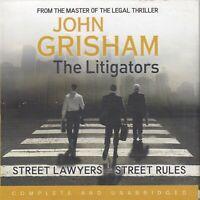 John Grisham The Litigators 9CD Audio Book Unabridged Legal Thriller FASTPOST