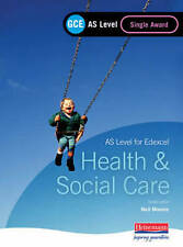 GCE AS Level Health and Social Care (for Edexcel): Single Award Book by Beryl S