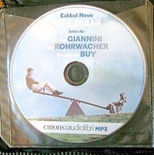 Audiolibro audiobook cd MP3  TRE PIANI di  ESHKOL NEVO - USATO
