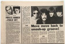The MOVE  'Ace Kefford & Tony Secunda' 1968 UK ARTICLE / clipping