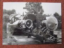 1979 PHOTO PRESSE VFW FOKKER FIELD TEST STAND REACTEUR LARZAC 04 JET ENGINE
