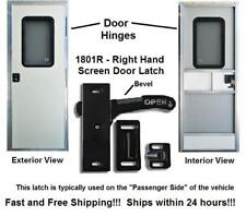 Right Hand RV Screen Door Latch - Handle E285 - Camper Motorhome Travel Trailer