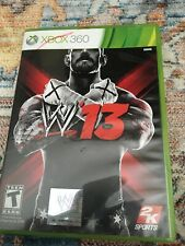 WWE '13 2k Sports Xbox 360 Game
