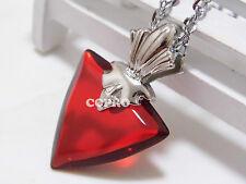 Fate stay night Tohsaka Rin cosplay pendant red big size Tohsaka necklace