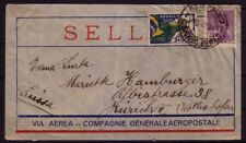 BRAZIL 1934 AIR FRANCE AIR MAIL COVER TO SWITZERLAND