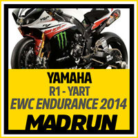 Kit Adesivi Yamaha R1 Team YART 2014 EWC Endurance - High Quality Decals
