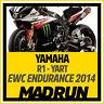 Kit Adesivi Yamaha R1 Team YART 2014 EWC Endurance - High Quality Decals
