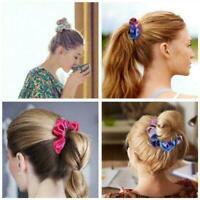 New Women Girls Colorful Hair Band Rope Ring Elastic Hairband Holder Ponyta B6J5