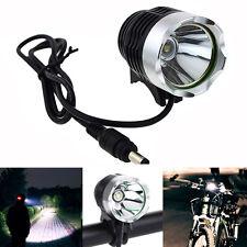 1200Lm 3 Modes CREE XM-L T6 LED Bicycle Light Headlamp Headlight Torch DC Port