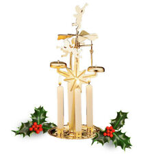 Scandinavian Party & Christmas Chimes with 4 Candles