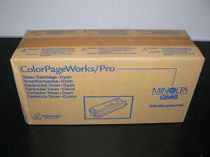 Minolta QMS Originaltoner CYAN 0940-701 ColorPageWorks/Pro