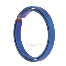 Titanium EDC Key Chain Pure Key Ring Split Hanging Buckle Keyring Carabiner Tool