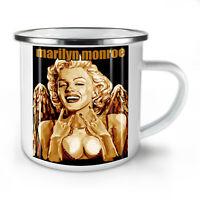 Marilyn Angel Celebrity NEW Enamel Tea Mug 10 oz   Wellcoda