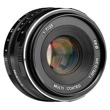 Meike 35mm F1.7 Large Aperture Manual Focus Lens APS-C F Canon Mirrorless Camera