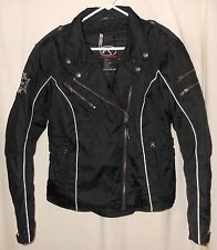 Women's Nylon Motorcycle Jacket Fieldsheer Armour Zip Out Liner 12