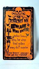 🌟 Halloween Hanging Door Signs Spooky Horror Party Decorations Crossbones Inn