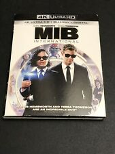 Men In Black International 4K Ultra Hd Blu-Ray Brand New
