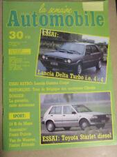 LA SEMAINE AUTOMOBILE: n°36: 20/06/1987: LANCIA DELTA TURBO ie 4x4 - STARLET DIE