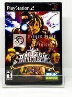 NeoGeo Battle Coliseum - PS2 - Brand New | Factory Sealed