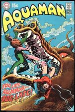 AQUAMAN #47,48 DC COMICS SILVER AGE LOT F-VG+ CONDITION