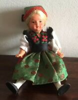 Gorgeous Vintage Celluloid German Girl  Doll