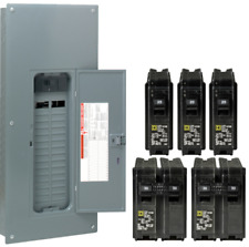 Square-D 200-Amp 30-Space 60-Circuit Indoor Main Breaker Box Panel Load Center