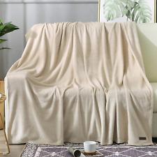 Beautex Fleece Blanket Twin Size Super Soft Flannel Throw Blanket Lightweight Fu
